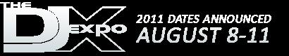 DJ Expo 2011 Logo