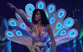 Katy Perry Peacock Costume