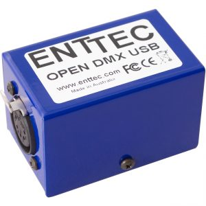 Supported DMX512 Interfaces