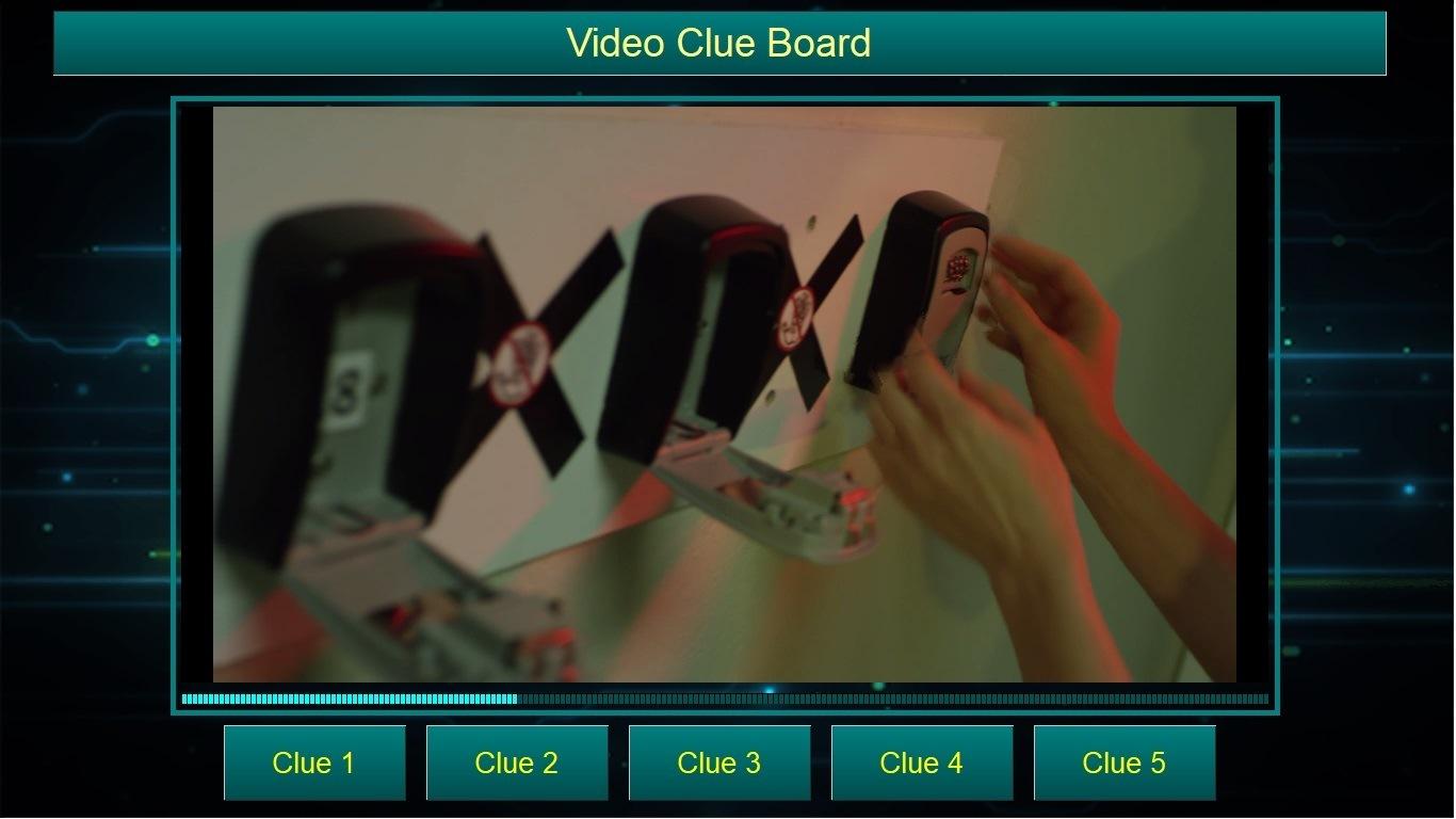 Escape Room Clue  Screen
